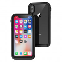 Catalyst® 高級防水防撞保護裝甲外殼 (iPhone X) - 隱形黑色
