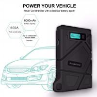 Imazing-IM21汽車起動器400A  -  800A峰值8000mAH(最高3.5L燃氣或2L柴油發動機)12V汽車電池增壓器便攜式電源組件,帶智能跳線電纜  (原裝行貨保養1年)