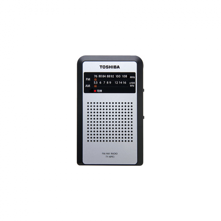 東芝  TY-APR3 sv  袖珍型收音機 適合 香港DSE聆聽考試 (原裝保養6個月)