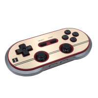 8bitdo F30 Pro Wireless Bluetooth Controller Dual Classic Joystick for Android PC Mac Nintendo Switch Gamepad (Hong Kong Warranty Period 1 Year)