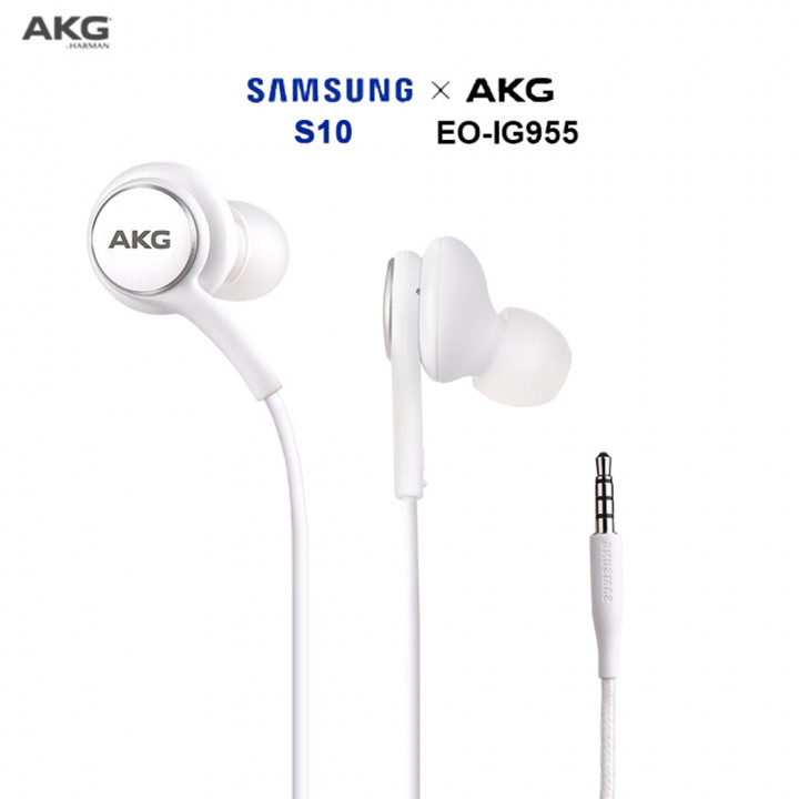 Official Samsung Tuned By AKG In-Ear Headphones w/ Remote EO-IG955 - Non-Boxed (Parallel Imported)