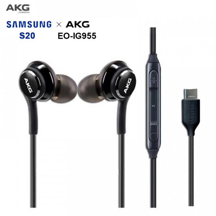 Samsung - Official Samsung Tuned By AKG Type C Galaxy S20 version In-Ear Headphones w/ Remote GH59-15252A - Non-Boxed (Parallel Imported)