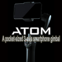 Snoppa ATOM: A pocket-sized 3-axis smartphone gimbal with Wireless Charging (Warranty Period 1 Years)