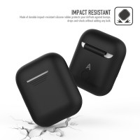 AhaStyle-AirPods Silicone Case Shock Proof Protective Cover for Apple AirPods