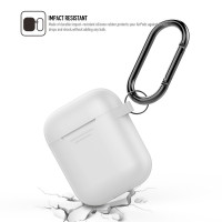 AhaStyle AirPods Portable Case with One Pair of AirPods Hooks for Apple AirPods Charging Case