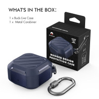 AHAStyle PT131 RUGGED CASE for Samsung Galaxy Buds Live Earbuds