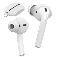 AHASTYLE - AirPods 1 , 2 /EarPods  Improve Sound Quality In-ear headphones covers PT66 (3 pairs) With Storage Pouch