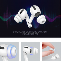 AhaStyle - PT99-2 AirPods Pro  Double-Layer Soundproof Enhanced Edition Silicone Replacement In-ear Replacement Earplug