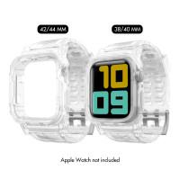 Ahastyle - WA04 Apple Watch Drop-resistant Transparent Sports Strap