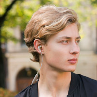 Audio-Technica ATH-CKR55BT Sound Reality Bluetooth Wireless In-Ear Headphones