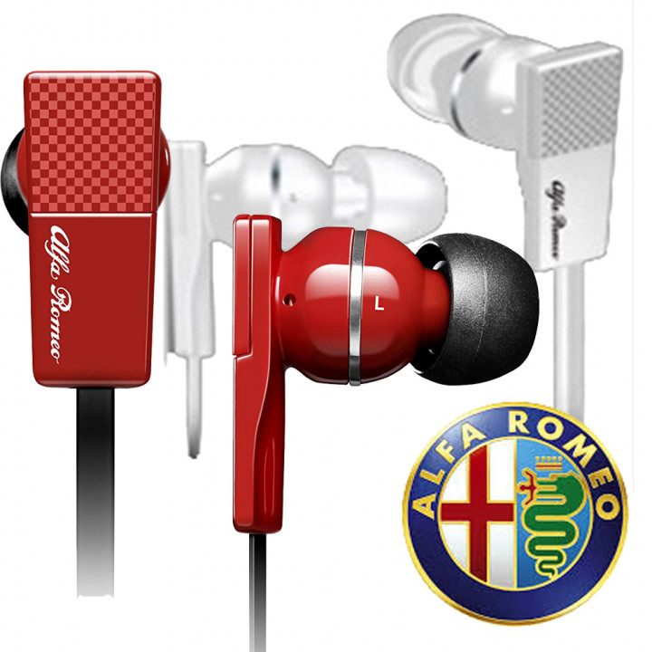 Autowave - Alfa Romeo Collection Earphones Model Mito (Warranty Period 1 years)