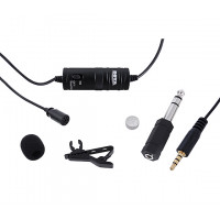 BOYA BY-M1 is an omni directional lavalier microphone (Hong Kong Warranty Period 90 days)