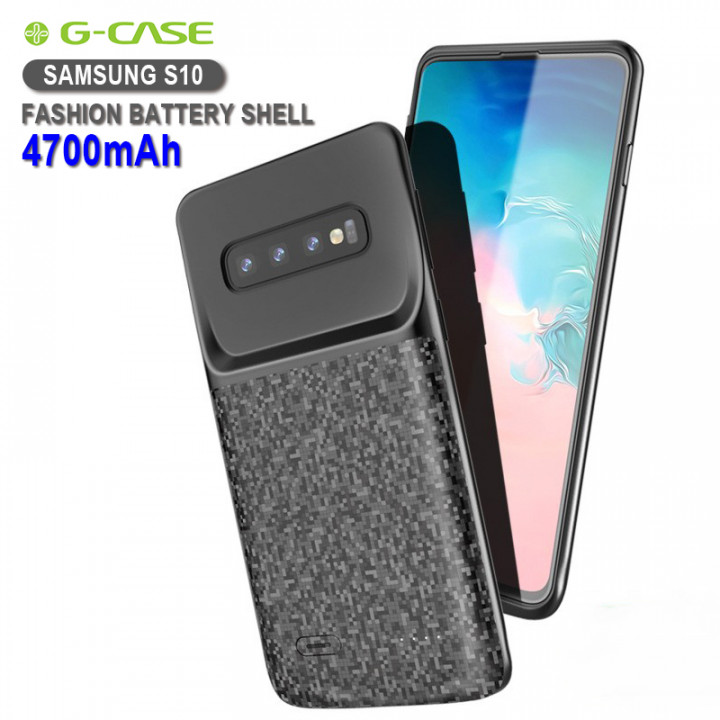 G-case - Power Bank Battery Shell Case 4700mAh For Samsung S10 (Hong Kong Warranty Period 90 days)