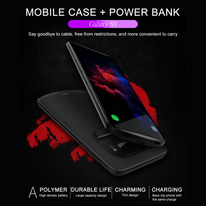 G-case - Power Bank Battery Shell Case 4700mAh For Samsung S9