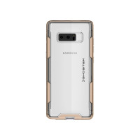 Ghostek Galaxy Note 8 Clear Protective Case (Cloak 3 Series) - 2X Miltary Standard Drop Tested Reinforced Impact ProtectionSupports Wireless Charging