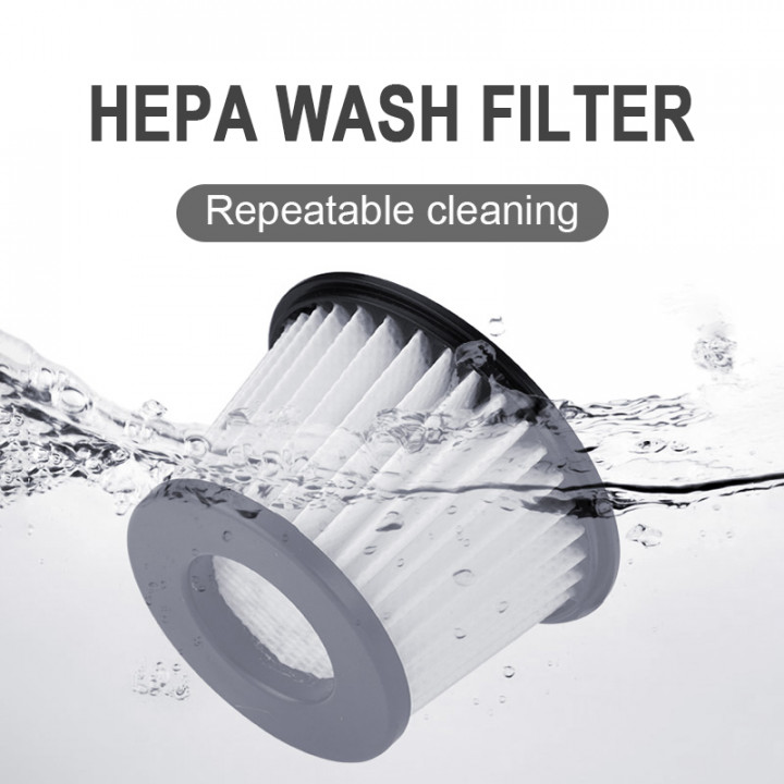 Hotbuy - Wireless Vacuum Cleaner 1 & 2 generation HEPA filter - Removable and washable filter assembly  (One set 3 pcs.)