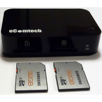 eComtech Toaster Pro w/SD Card Reader WiFi for iPhone/iPad