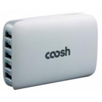 Coosh 5-Port USB Hub Charger