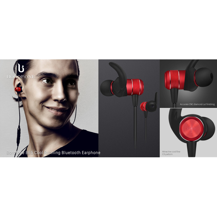 BOROFONE BE5 RUNNING MAGNETIC BLUETOOTH EARBUDS