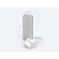 Sony - SBH56  Bluetooth® Headset with Speaker (Blur-free selfies.)(Warranty Period 1 years)