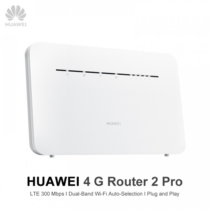 HUAWEI 4G Router 2pro - Support SIM card  (Hong Kong Warranty Period 1 year)(Model:B316-855)