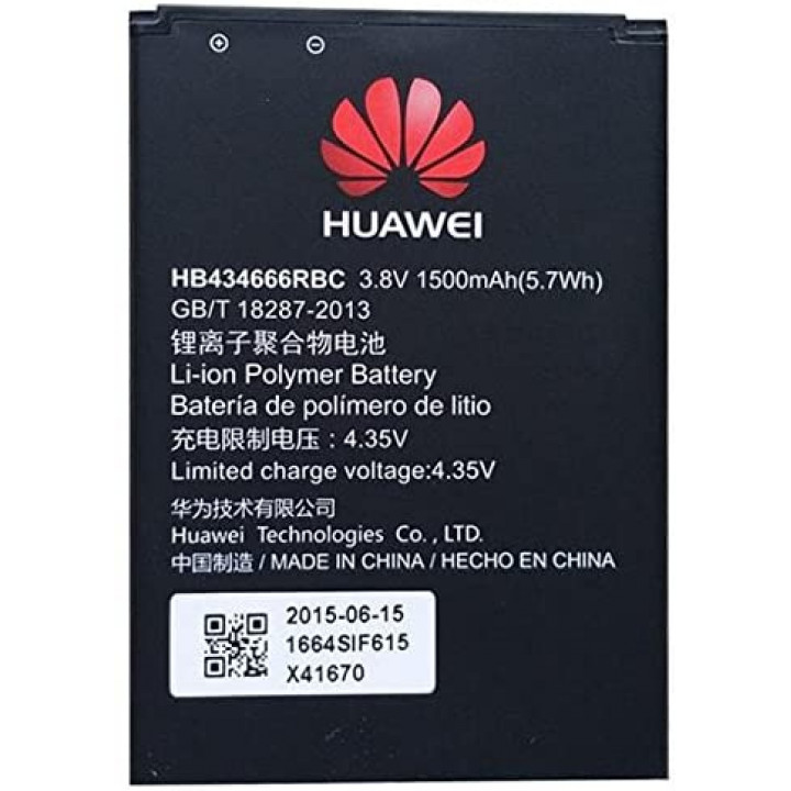Original Huawei Battery HB434666RBC Li-ion Polymer 1500 mAh (for E5573, E5577C, E5577s)