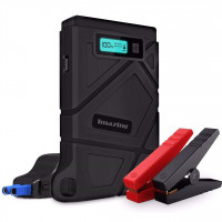 Imazing-IM21 Car Jump Starter 400A - 800A Peak 8000mAH (Up to 3.5L Gas or 2L Diesel Engine) 12V Auto Battery Booster Portable Power Pack with Smart Jumper Cables (Warranty Period 1 years)