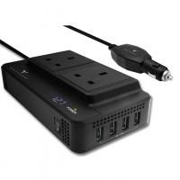 Maxtron CG24SU Car AC Power Socket DC 12V to AC 220V powering