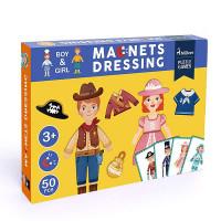 Mideer Magnetic Puzzle Board - Dressing