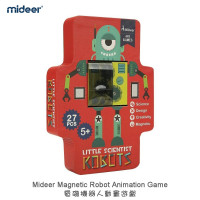 Mideer Magnetic Robot Animation Game