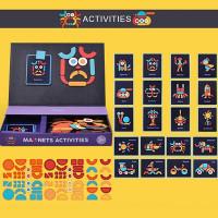 Mideer Magnetic Puzzle Board - Activities