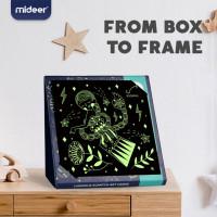 Mideer Luminous Scratch Art Card DIY Painting Card - Twelve Constellations (MD4140)