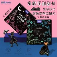 MiDeer  Scratch Art Card Diy Painting Card - Fairy_Gril (MD4084)