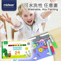 Mideer Washable Markers 24 colors (The Very Hungry Caterpillar) (MD4106)