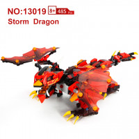Mould King (13019) Remote Control RC Bricks Block Dragon Kungfu King, Learning, STEM Toys