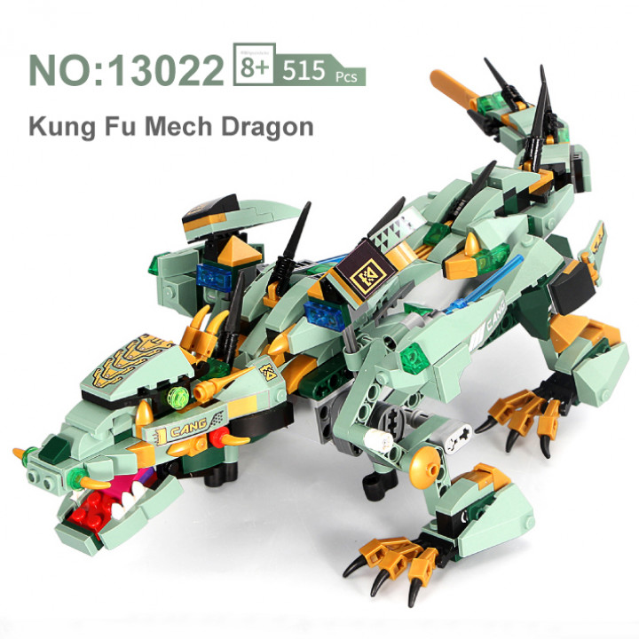 Mould King (13022) Remote Control RC Bricks Block Dragon Kungfu King, Learning, STEM Toys