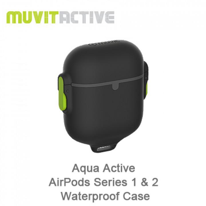 MuvitActive - Aqua Active AirPods Series 1 & 2 Waterproof Case