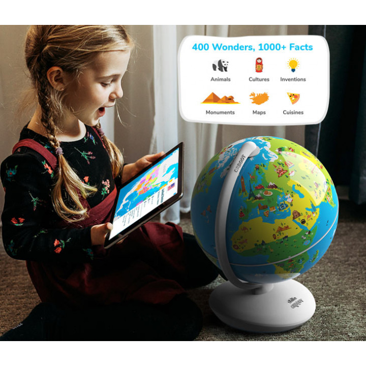 Playshifu - Orboot Earth AR Globe (App Based STEM Toy): Augmented Reality Interactive Globe for Kids, Stem Toy for Boys & Girls Ages 4+ Educational Toy Gift