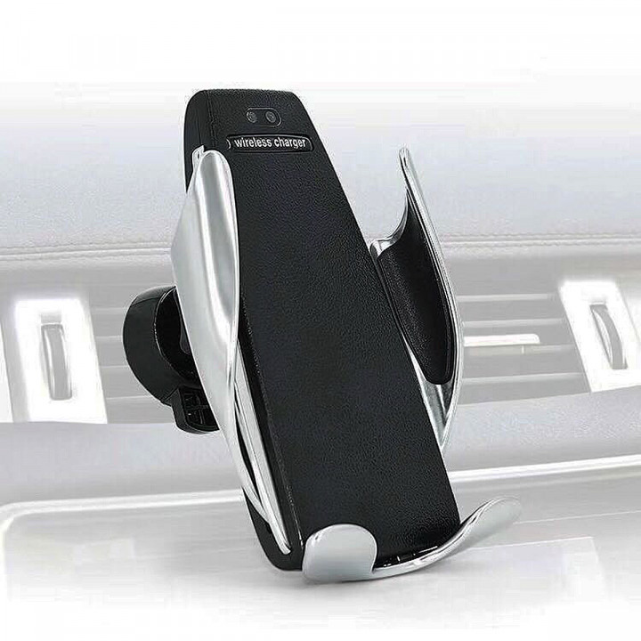 S5 Infrared Automatic Opening And Closing Fast Wireless Charging Car Mount (Including Air Outlet Clip and Bracket) (Hong Kong Warranty Period 90 day)