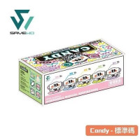 SAVEWO 3DMASK CANDY (30 pieces individually packaged/Box) 5 colors earloop (6 pc each color)
