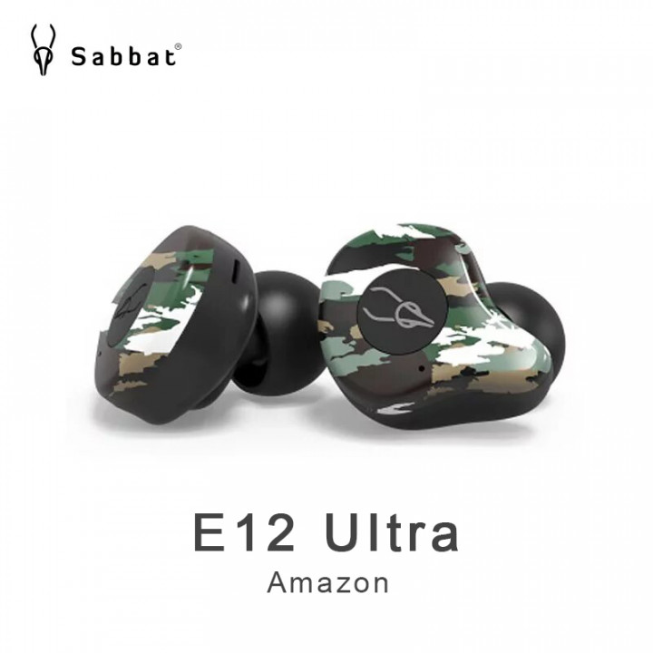 Sabbat E12 UItra Professional Bluetooth 5.0 Lossless Audio decoding earbuds headphone (Warranty Period 1 years)