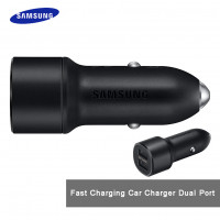 Samsung - Fast Charging Car Charger Dual Port  (Hong Kong Warranty Period 90 days)