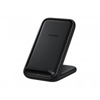 Samsung - 15W Wireless Charger Stand Fast Charge With Fan Cooling (EP-N5200)