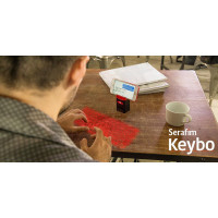 Serafim Keybo - World's Most Advanced Projection Keyboard & Piano - Multilingual Support (Warranty Period 1 years)