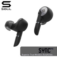SOUL SYNC PRO Superior True Wireless Earphones with Dual Microphones (Warranty Period 1 year)