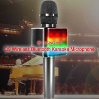 TOSING Q9 Wireless Bluetooth Karaoke Microphone (English Version)(Black Color) (Hong Kong Warranty Period 90 days)