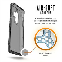 UAG (Urban Armor Gear) Samsung Galaxy S9 Plus [6.2-inch screen] Plyo Feather-Light Rugged  Military Drop Tested Phone Case