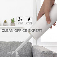 Wireless Vacuum Cleaner, Minimal but Strong Suction Suitable for suction Wall Corner, Windows, Sofa Gaps, Car Seats, Office, Computer Keyboards, Wardrobes.. (Hong Kong Warranty Period 90 day