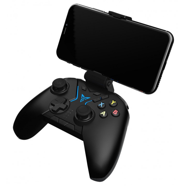 Flydigi Apex Wireless Controller, Competitive Joystick with Full Spectrum RGB Lighting, All-platform Supported for Android Phone, Tablet, TV Box, PC (Hong Kong Warranty Period 1 Year)