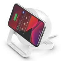 Belkin - BOOST↑CHARGE™ Wireless Charging Stand + Speaker (Warranty Period 2 year)